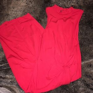 Soprano Full body beautiful dress EUC red size S